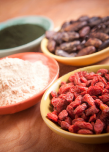 Superfoods: Goji, Maca, Cacao, Spirulina - Fit Women Over 40