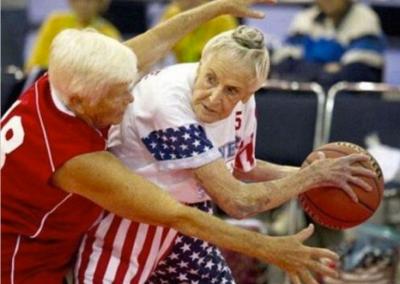 Basketball at any age.