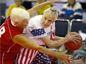 Basketball at any age.