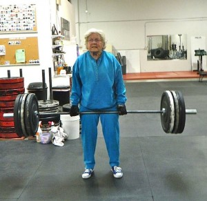 Deadlift at 70