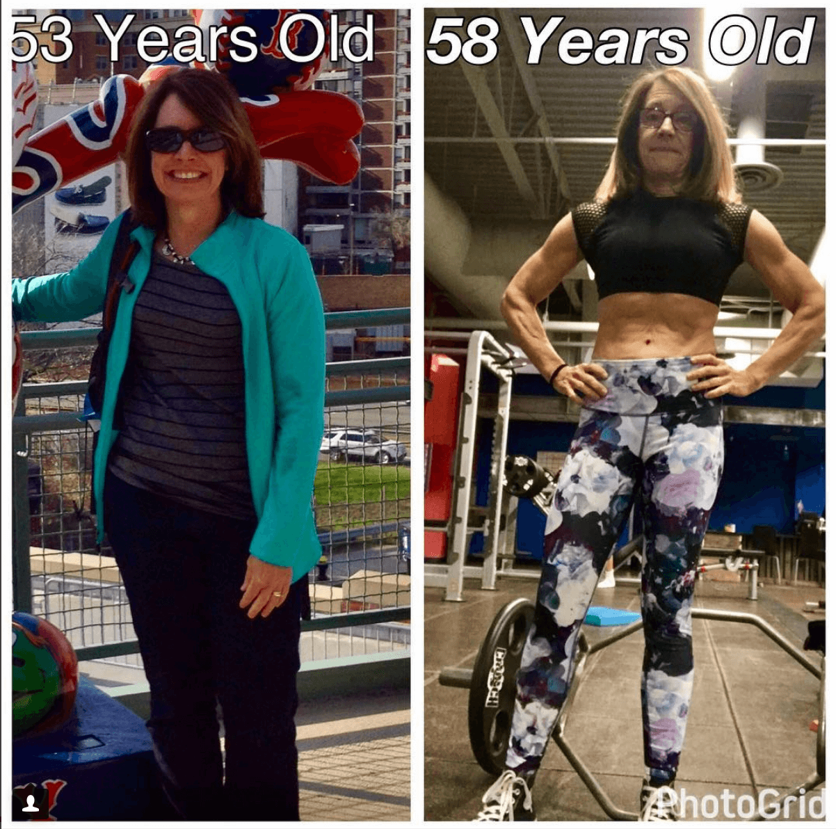 Susan Niebergall Before and After